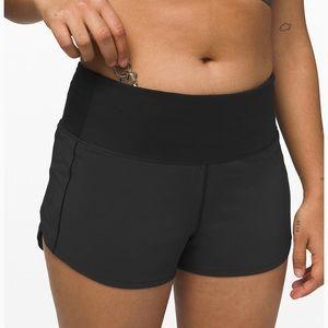 """lululemon speed up shorts high rise 2.5"""""""